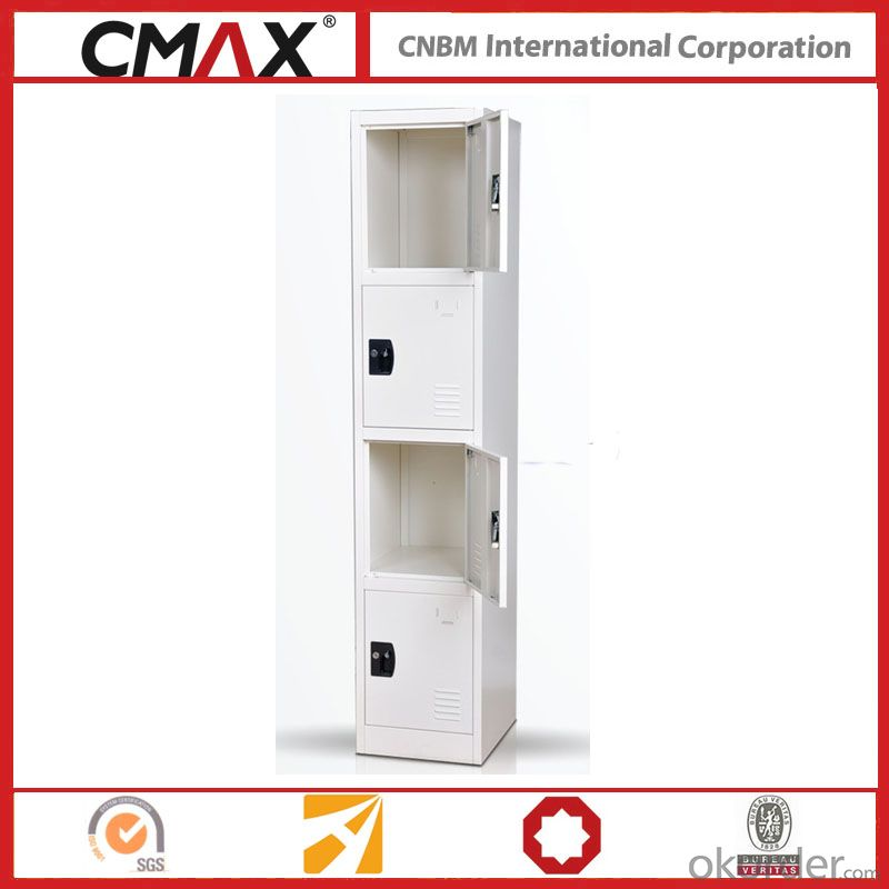 Steel Locker 4 Compartments Cmax-SL04-05