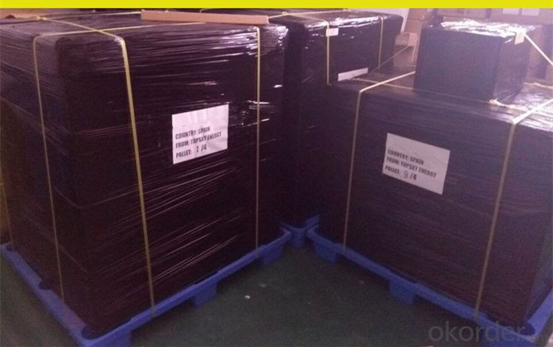 High Current Solar Cell 16.8% Polycrystalline Silicon Solar Cell Price
