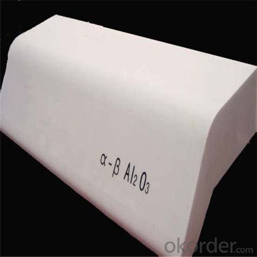 Fused Cast Alumina White Corundum 95% Refractory Bricks
