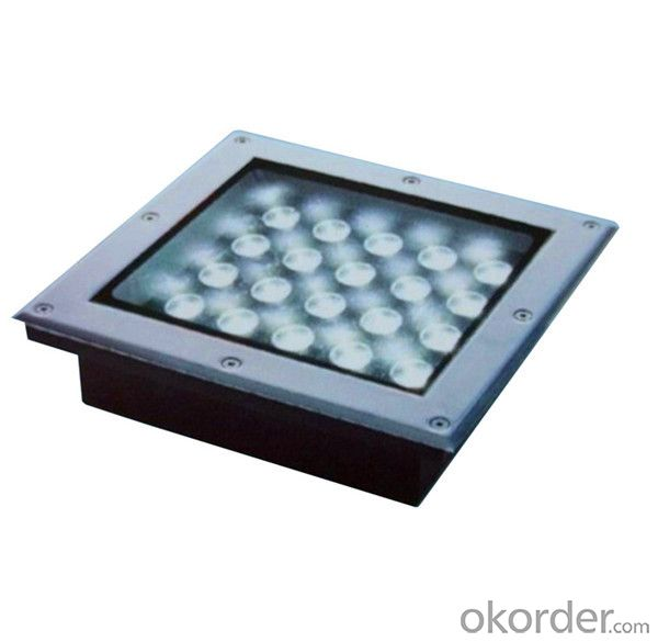 Solar Underground Light recessed square 3W new products 2016