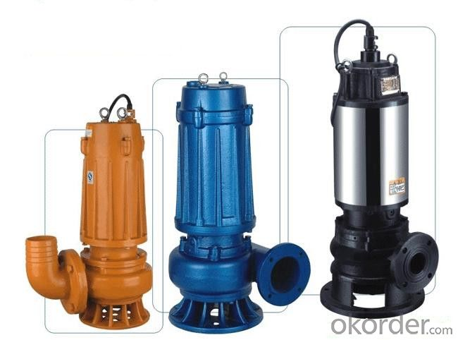 Vacuum Pump Suction Sewage With High Quality