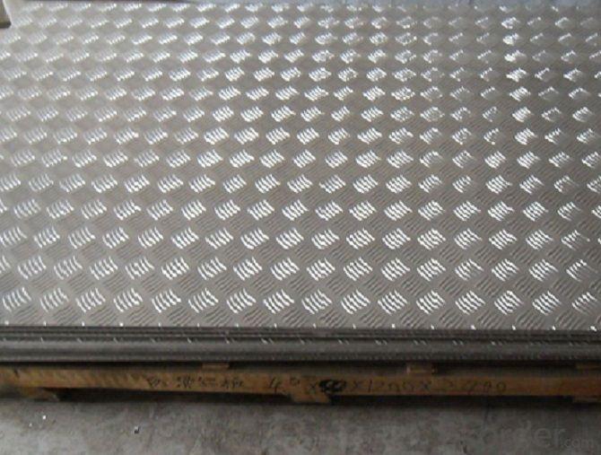 Five Bar Anti-slip Bus Aluminum Tread Plate Manufacturer