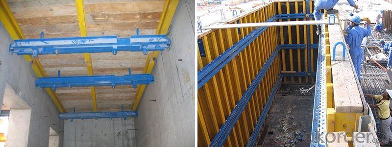 Adjustable Shaft Platform / Engineered Formwork System