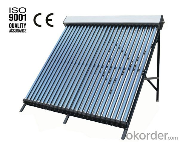 Non-pressure Solar Collector Manufacturer In China (30Tube)