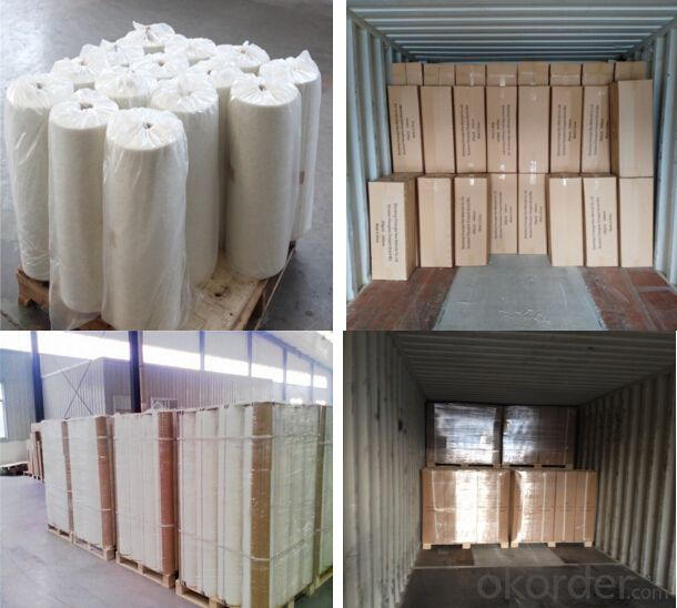 Needle mat applied Chopped Strand/CS/Fiber Glass Strands