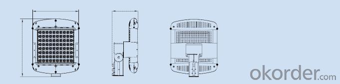 Street Light      (Square type)    C0820-BR