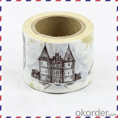 Rice Paper Masking Tape Made in China with Free Samples