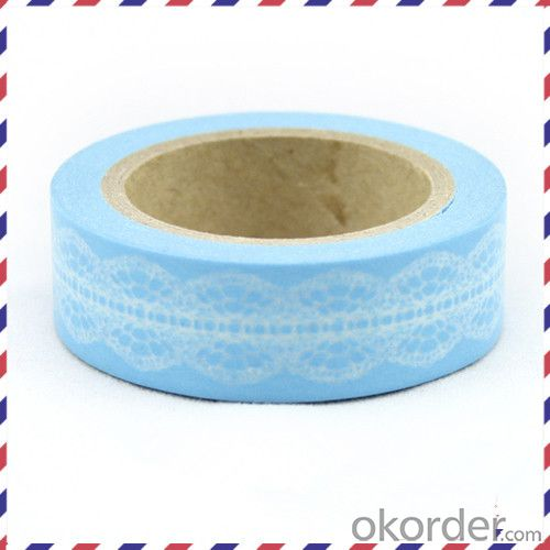 Rice Paper Masking Tape with High Temperature Resistance