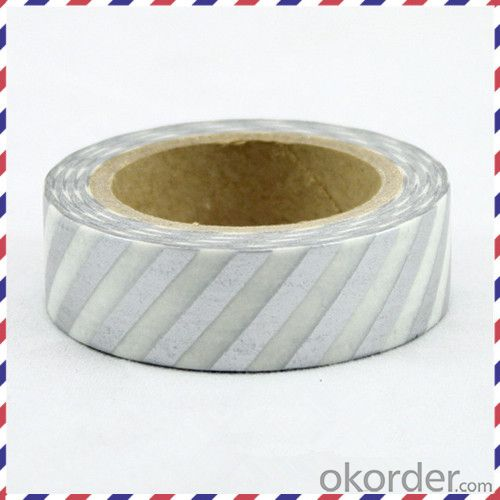 Masking Tape/Rice Paper Tape with Desigh