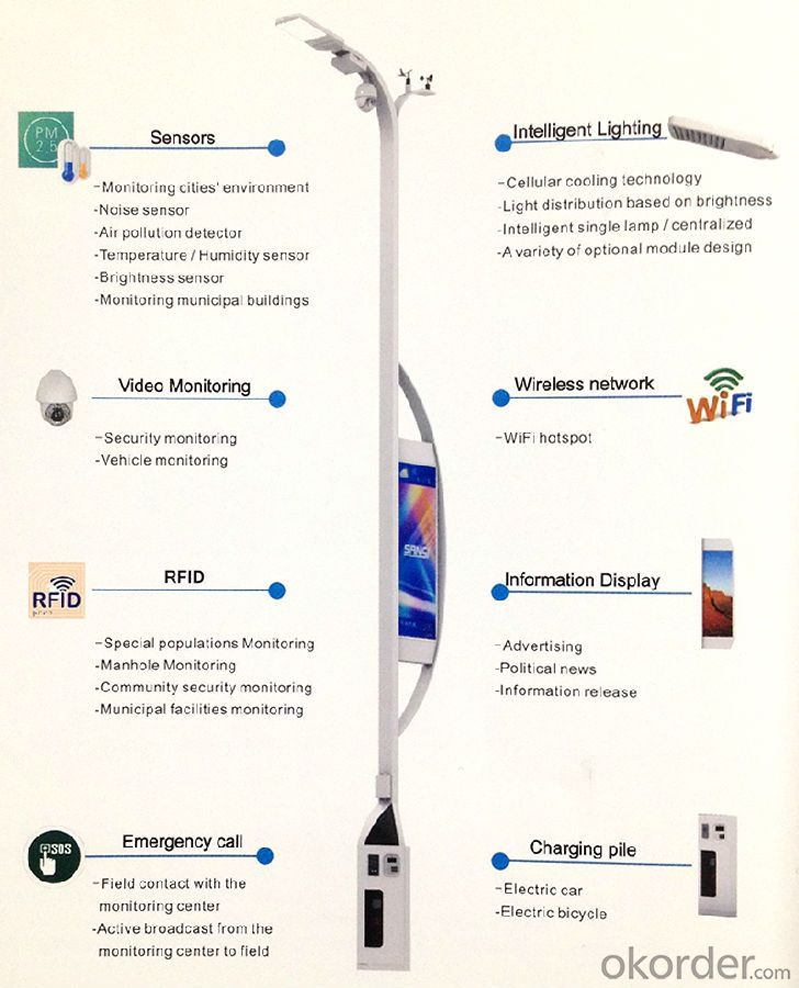Intelligent  Street  Light / Smart City Lighting