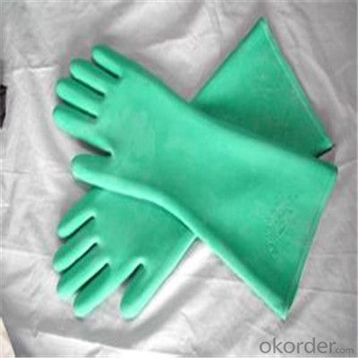 Disposable Nitrile Latex Working Glove  Waterproof Long Gloves