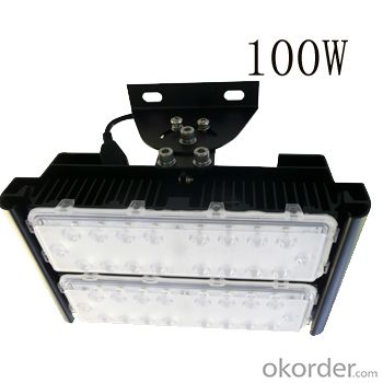 Adjustabke modules high power 100W led tunnel light
