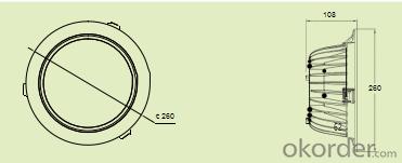 8-inch Downlight      C22DL-Q8