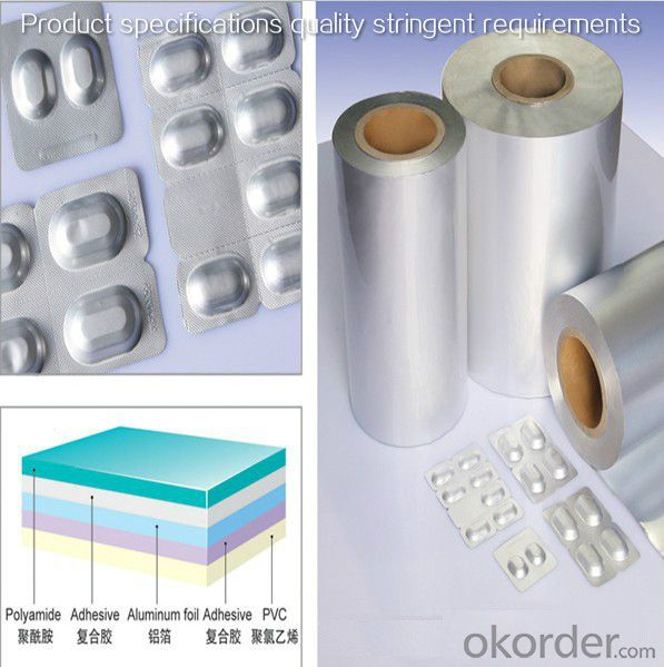 Manufacture of aluminum foil for all kinds of packaging,like beer, soft packaging