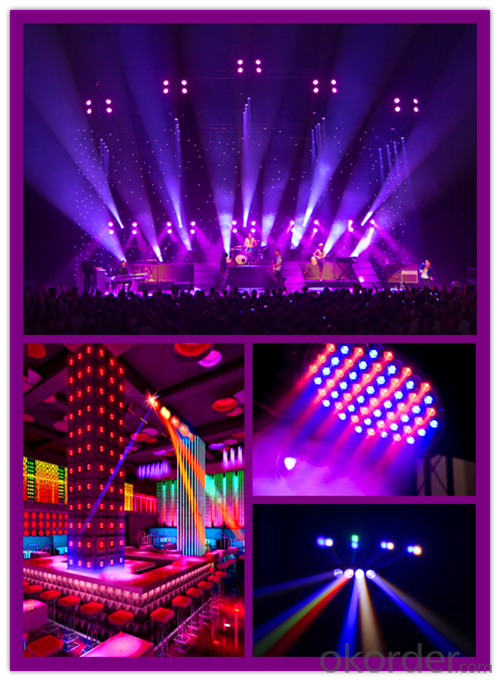 led wash moving head stage lighting professional RGBWA+UV 36x18w 6in1 zoom
