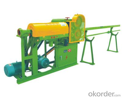 Mechanical  Rebar Straightener and Cutter ,straightening machine