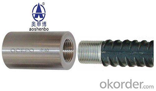 Parallel Thread Rebar Coupler,Rebar mechanical splice