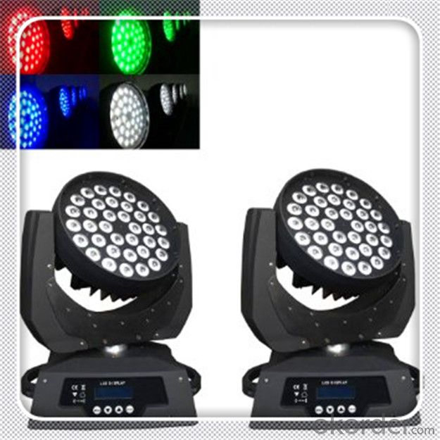 LED Beam Moving head light 30W DMX RGBW 4-in-1 Mini  for DJ, Club, Party and Stage