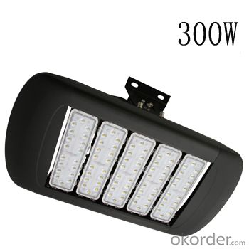 300W led tunnel light full watt high brightnesss for tunnel lighting