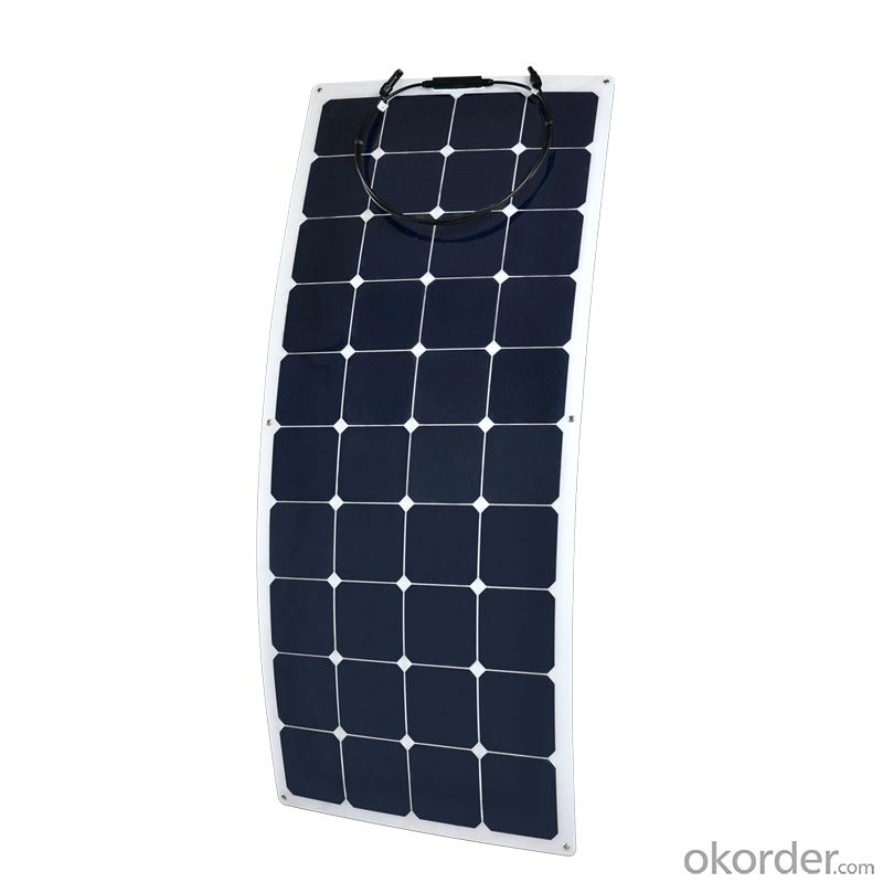 2015 New Design Sunpower Flexible Solar Panel