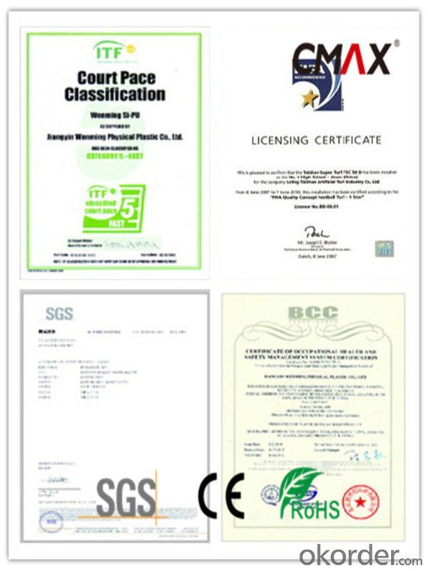 FIFA Soccer Football Artificial Grass Lab Certificated