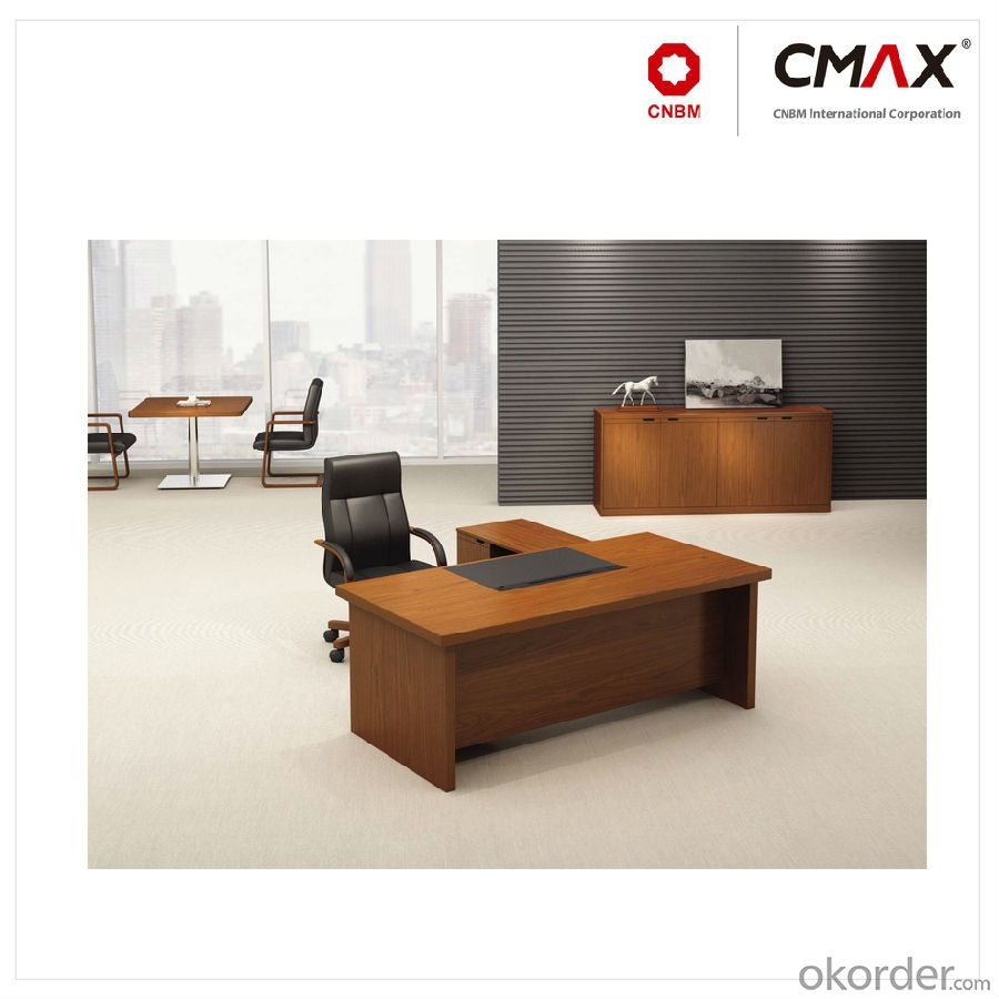 Executive Office Table with Veneer Finish CMAX-YDK624A
