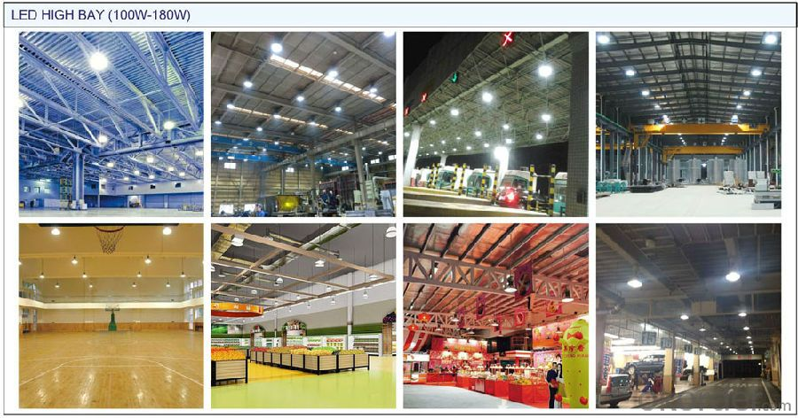 LED high bay:>100lm/w, IP65, CRI>80, warranty 3 years, healthy light