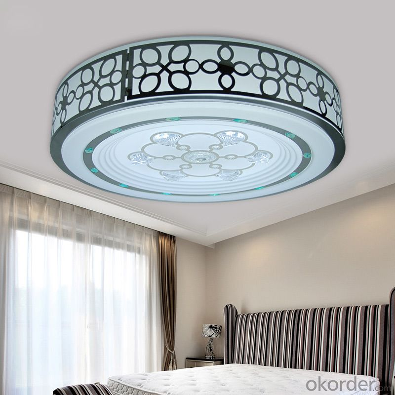 LED round lace ceiling lamp in bedroom and living room
