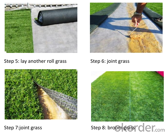 20mm PE Material Outdoor Rooftop Artificial Grass