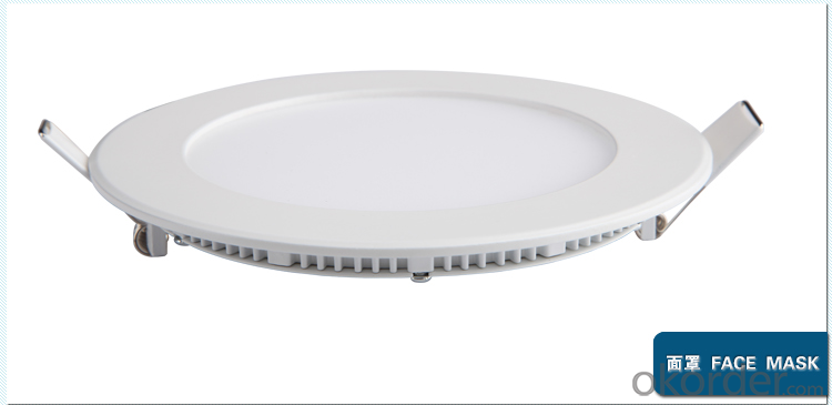 Price 24W 8inch recessed LED downlight dimmable 2200lm Epistar for indoor lighting led down light
