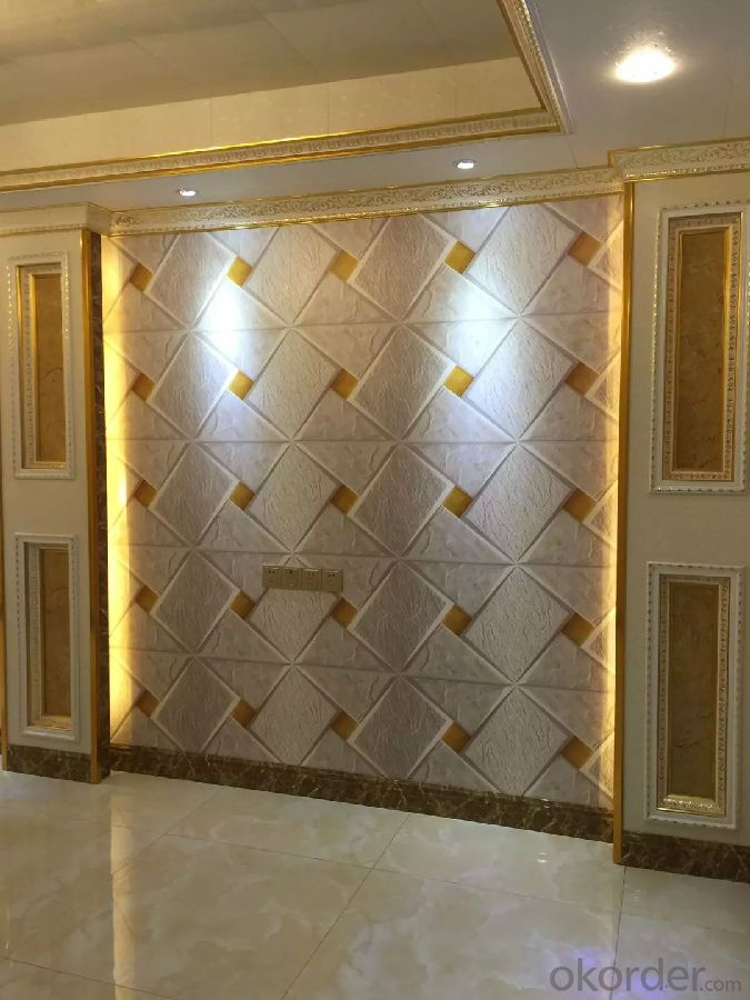 Aluminum Sandwich Wall Slat For Interior Wall Decoration