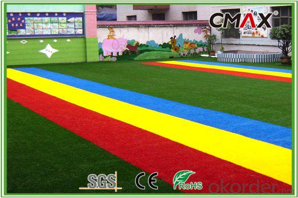 25mm Non Filling Best Kindergarden Decoration Artificial Grass