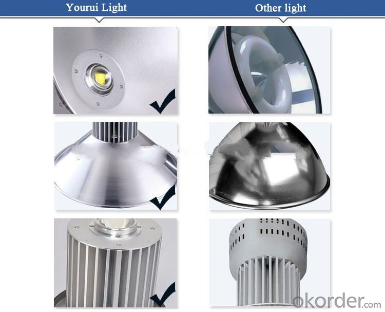 High shed light industrial fluorescent light fixture,led indoor light