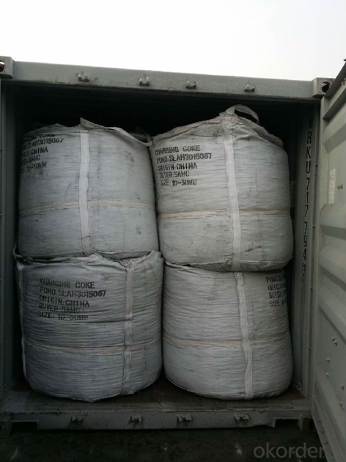 FC 98.5% Calciend Petroleum Coke Manufactured in China