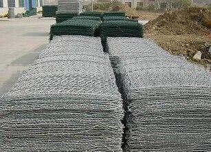 Hexagonal Mesh Gabion Box/Plastic Coated Woven Wire Mesh Gabions