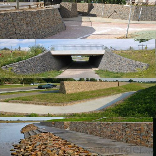 Garden Landscaping Welded Gabion Basket