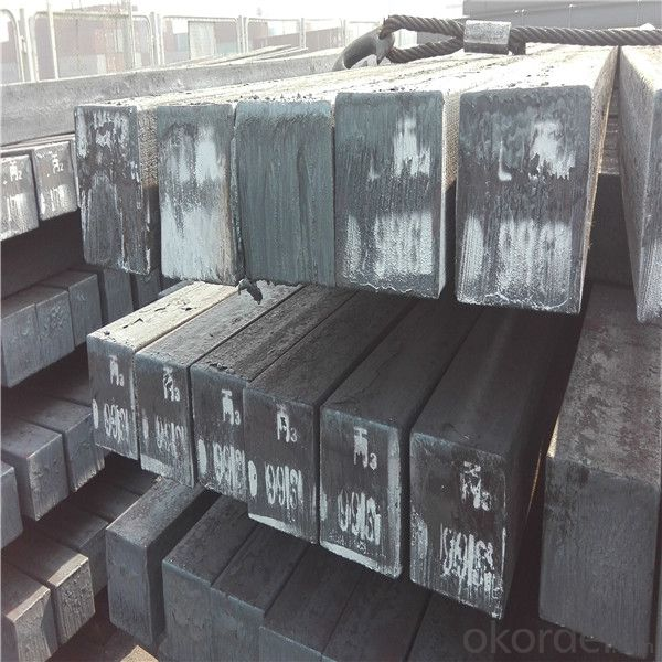 Mild steel billet for hot rolled steel products