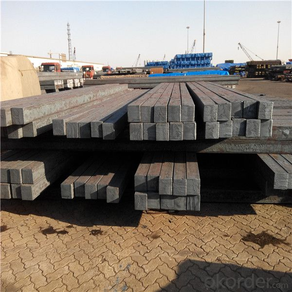 Mild steel billet for hot rolled steel products