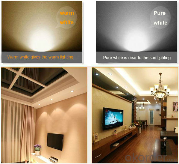 2*9W LED Bean Gall lights with double head / led bean pot lamp embedded ceiling lights 3 years warranty