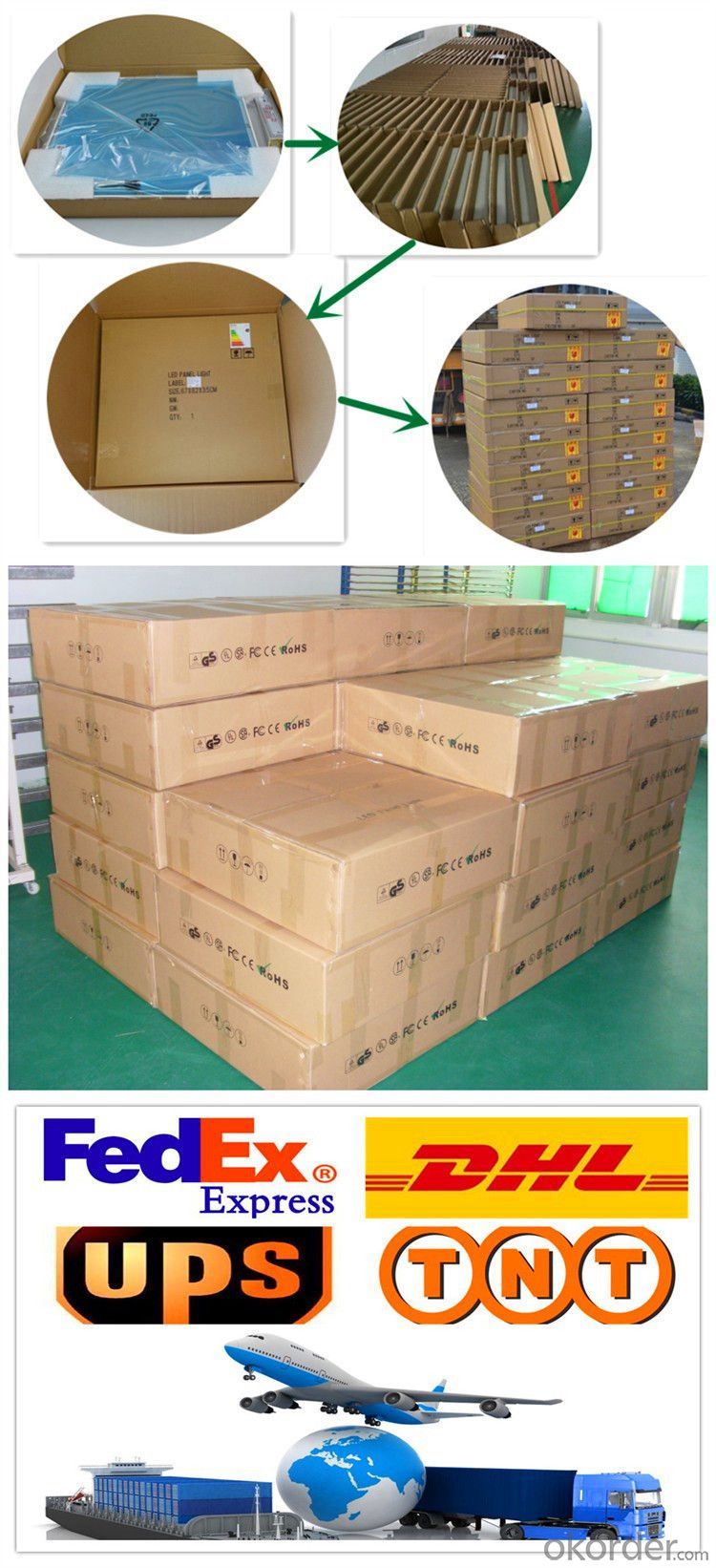Troffer High CRI>90 embeded LED panel light 600x600mm 36w
