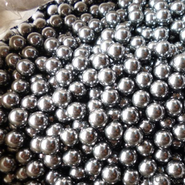 SUS304 Steel Shot Chemical Product Stainless Steel Ball