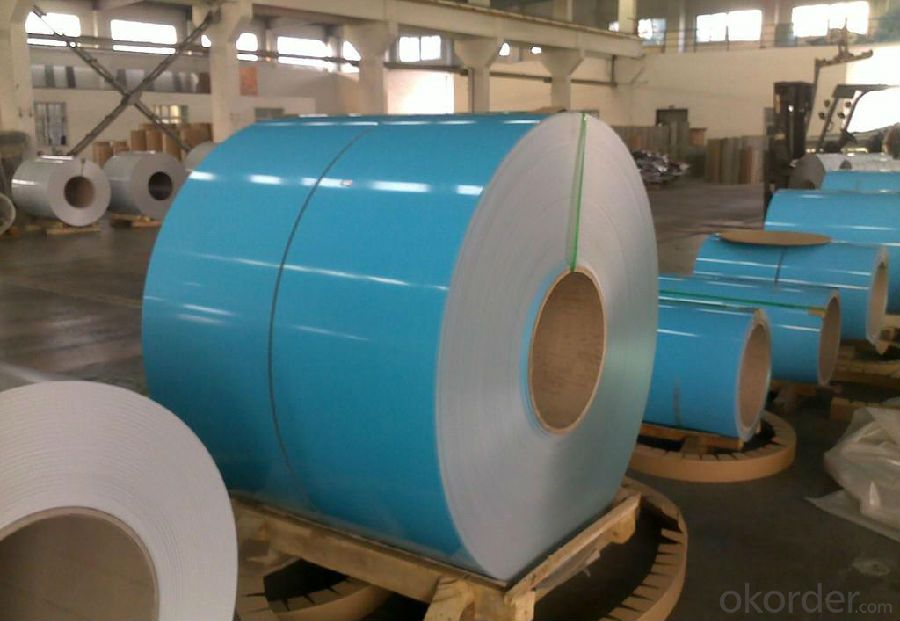Aluminum Wooden Grain Color Coated Sheet Coil For Sale