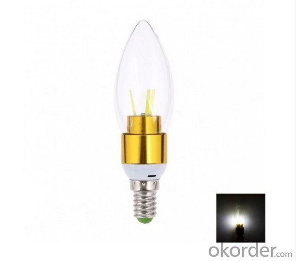 LED FILAMENT CANDLE LAMP BULB 4W NEW DEVELOPMENT