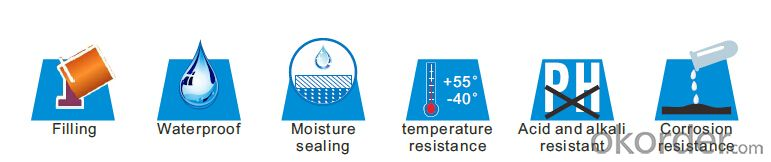 Waterseal Mastic Temperature Stable Mastic with Excellent Conformability