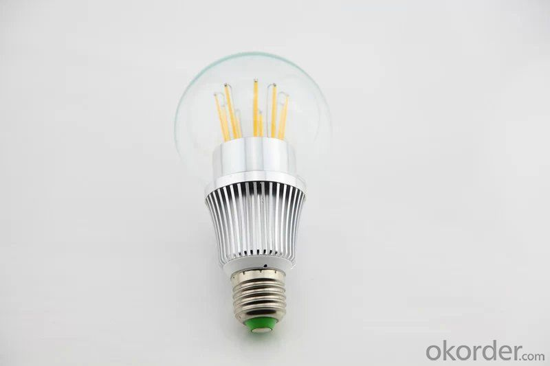 LED FILAMENT LAMPHIGH POWER DIMMABLE  BULB 9W NEW DEVELOPMENT