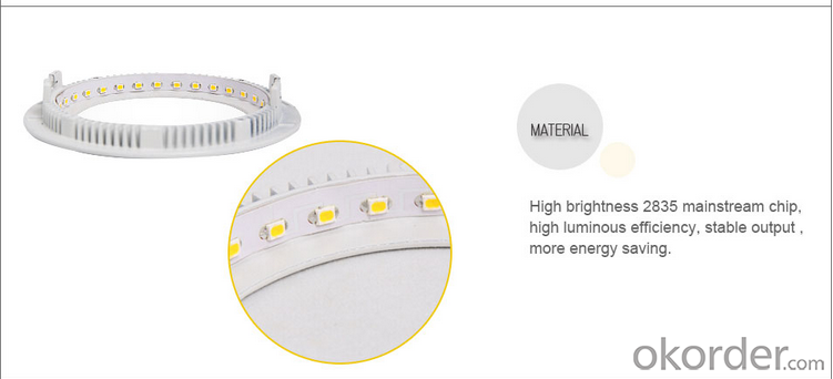 LED PANEL LIGHT 24W ROUND ceiling light ce rohs emc iec