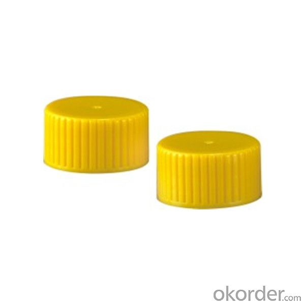 MZ-X03 Plastic cap with ribbed finished