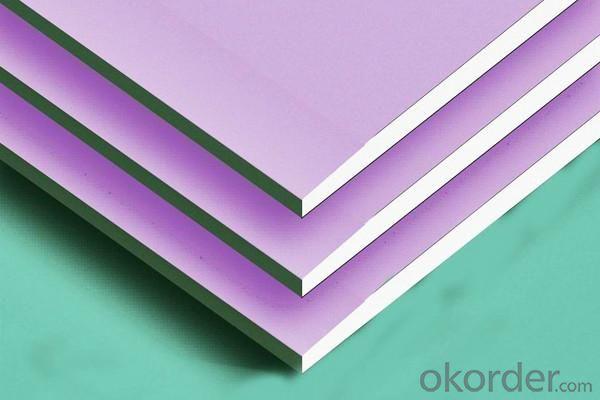 Decorative standard size Gypsum drywall paper board