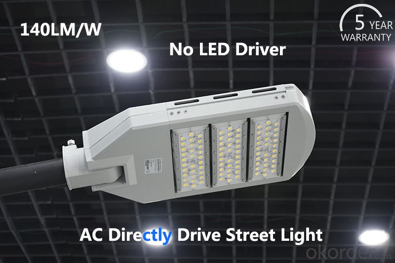 Led Street Light Bulbs 160W 120W  no driver 140Lm/W