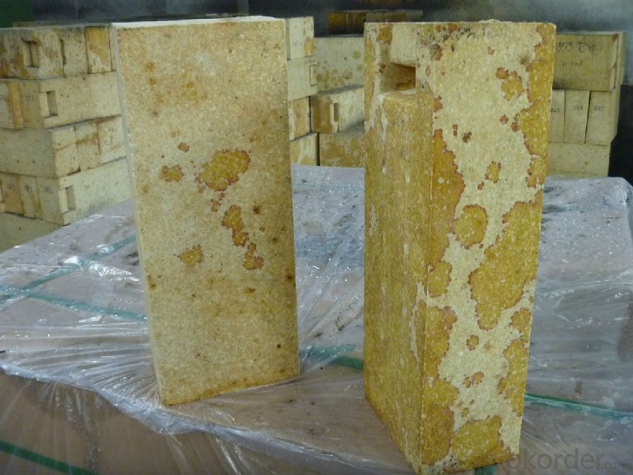 Refractory Silica Bricks Used in Glass Furnace